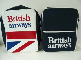 Original British Airways Flightbags