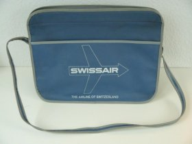 Original Swissair Reisetaschen / Flightbags